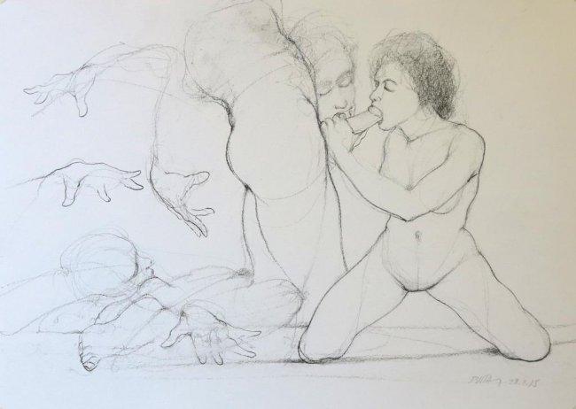 Erotica Drawings 117