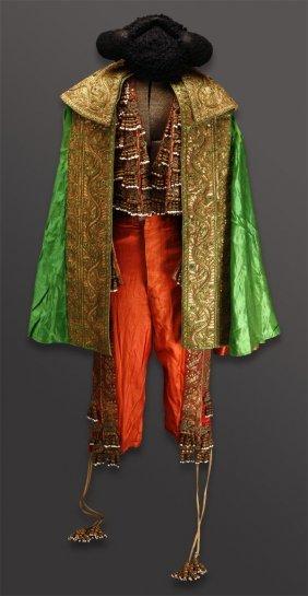 1088 A Vintage Spanish Matador Toreador Costume Lot 1088