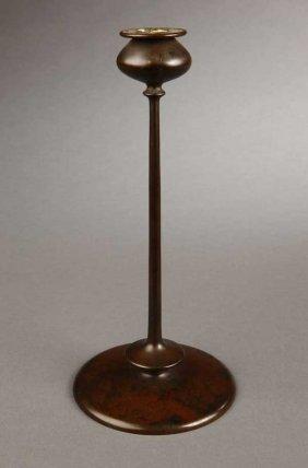 A Robert Jarvie ''Beta'' Bronze Candlestick