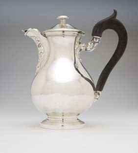 A Louis Philippe .950 Silver Chocolate Pot
