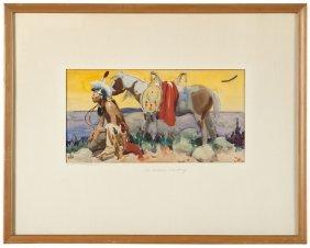 Lot Hq American West Auction