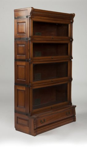 A Globe-wernicke Stacking Barrister Bookcase