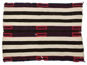 A Classic Navajo Second Phase Chief's Blanket