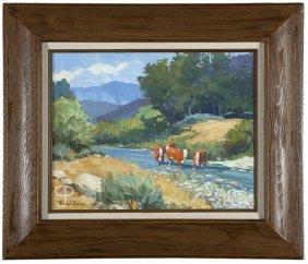 Nicholas Firfires (1917-1990 Santa Barbara, Ca)