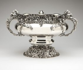 A Shreve, Crump & Low Sterling Silver Centerpiece