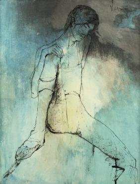 Jean Jansem (1920-2013 French)