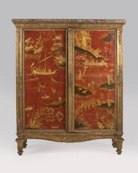 A French Chinoiserie Cabinet