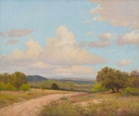 Porfirio Salinas (1910-1973), Hill Country Summer, Oil