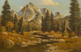 """Randy Peyton (b. 1958), """"peyton's Hideaway"""", Oil"""