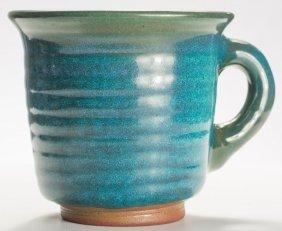 Harding Black (1912-2004), Turquoise Mug, 1982