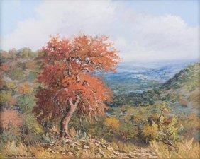 Eric Harrison (b. 1971), Autumn, Oil On Canvas