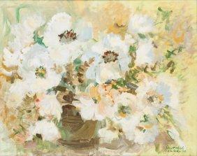 Janet Shook Lacoste (b. 1912), Floral Still Life, 1969