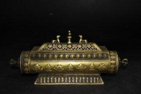 Exquisite Ming Xuande Perio Bronze Incense Burner