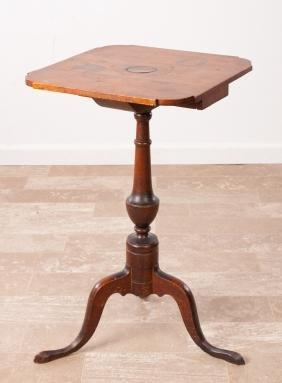 Mahogany Candle Stand, L 18th / E 19th Century