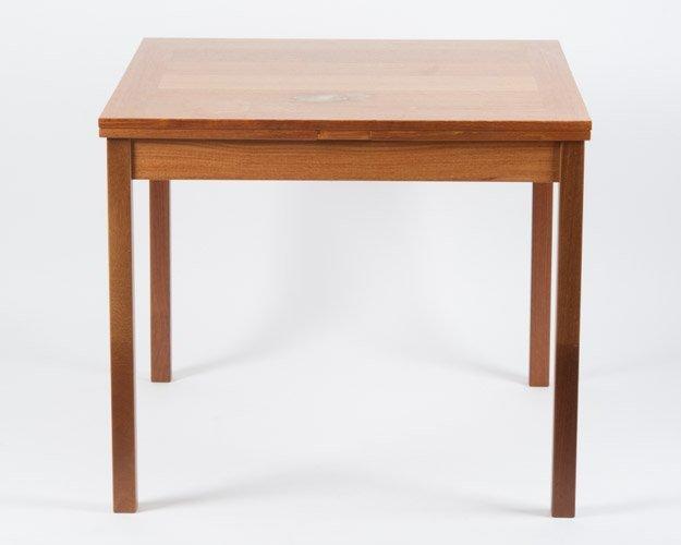 Danish Modern Mobler Ansager Dining Table Lot 78