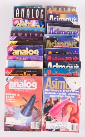 Asimov & 1990 Science Fiction Digests/ Magazines