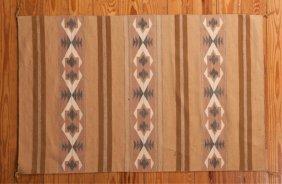 "Navajo Flat Weave 2'11"" X 4'6"" Rug"