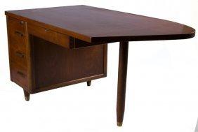 """jackson Desks"" Walnut Mid-century Desk"