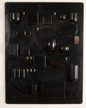 Dorothee Maurer-becker Black Wall-all Organizer