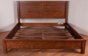 Ethan Allen King Size Bed