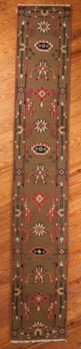 "Indian Mahal 2'7"" X 15'11"" Wool Pile Runner"