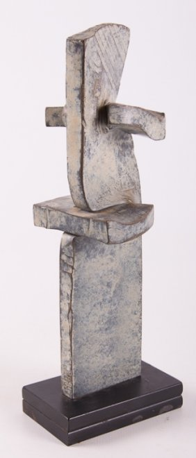 F.a. Crist Abstract Metal Sculpture