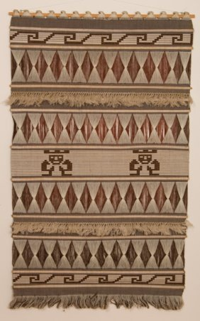 Navajo Style Wall Tapestry/ Weaving