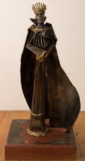 King Wraith Style Metal Sculpture