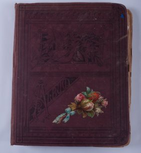 Victorian Trade Card & Calling Card Scrapbook