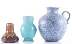 Contemporary Pottery Trio