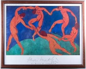 Centre Georges Pompidou Matisse Exhibition Litho