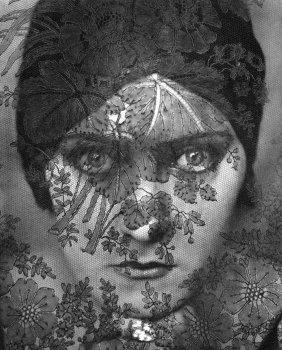 Edward Steichen - Gloria Swanson - Vintage Photogravure