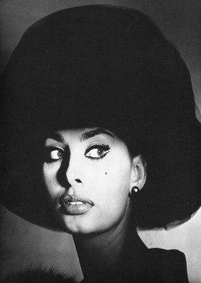 Irving Penn - Sophia Loren, Italy - PhotoGravure