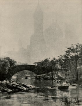 Alenius, Edward Arps - Central Park Lake