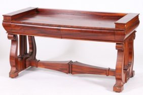 CLASSICAL LIBRARY TABLE