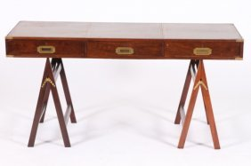 GEORGE III STYLE CAMPAIGN DESK