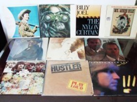 10 Pieces Of Old Records And Cds Orignal