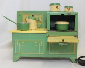 Exceptional Vintage Empire Electric Child's Toy Stove