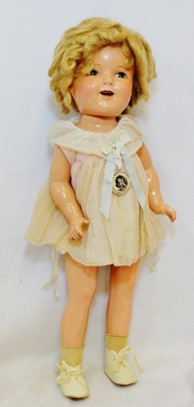 Shirley Temple Celebrity Doll Ideal N & T 1938 20 In