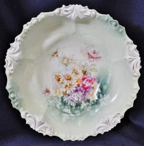 1904-14 Rs Prussia Wreath & Star Fleur De Lis Mold Bowl