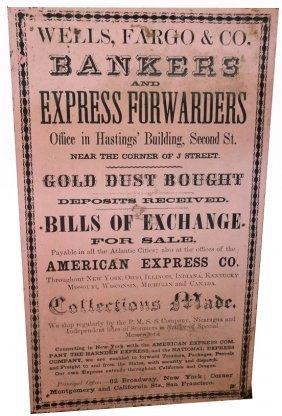 Antique wells fargo co advertisement lot 28 for Jewelry exchange overland mo