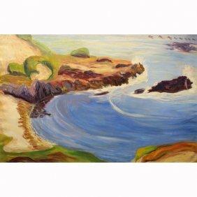 20th C. American Pacific Coastal Scene