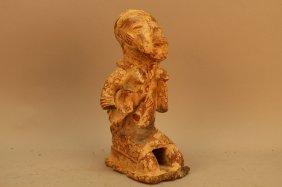 Antique Djenne Materad Terracotta Figure