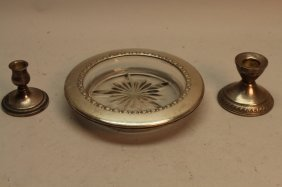 Lot Of 3 Sterling Pieces