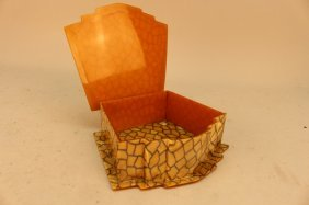 Ladies Art Deco Bakelite Vanity Box