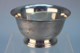 Manchester Sterling Silver Paul Revere Repro Bowl