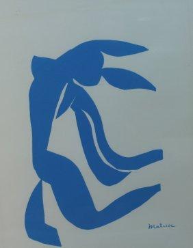 Henri Matisse (1869 - 1954) Silkscreen