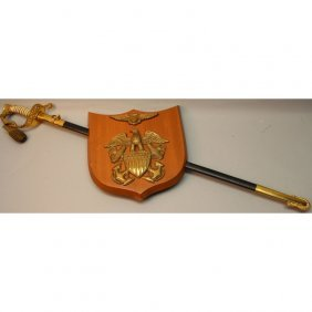 Us Army Officer Ceremonial Sword-ralph Barnum