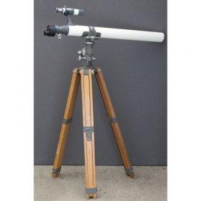 Monolux Astronomical Telescope On Tripod