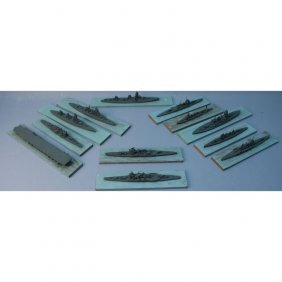 (12) Imperial Japanese Navy Ship Models